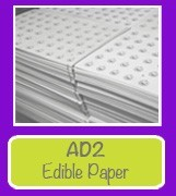 Edible Print On Paper HQ Wafer Paper Sheets