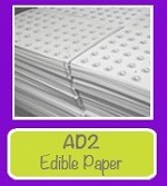 Edible Paper 20 Sheets Pack AD2