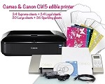 Cameo & Canon CW8 Edible Printer Bundle 5