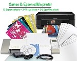 Cameo & Epson Edible Printer Bundle 2