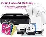 Portrait & Canon CW8 Edible Printer Bundle 5