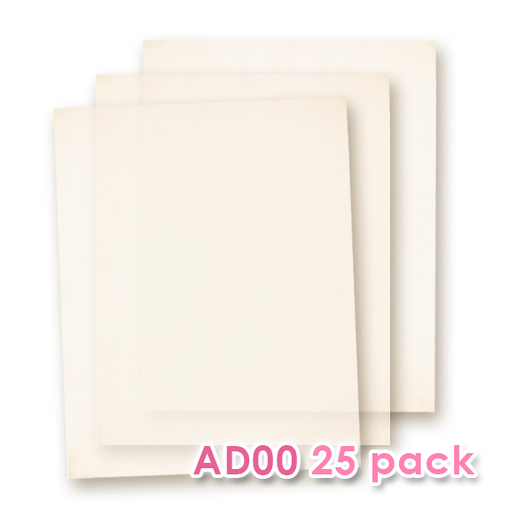 Edible Wafer Paper AD-00 - 20 sheets