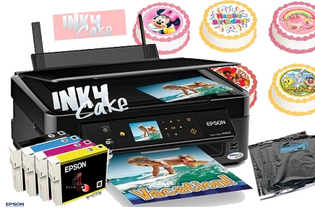 INK 4 CAKES Epson Edible Printer Kit SE4 Wirelles All in One at Sears.com