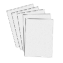 CHOCOLATE Transfer Sheets 4pk