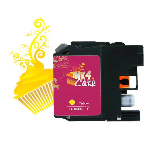 Brother LC103XL Edible Cartridge Yellow for BR17