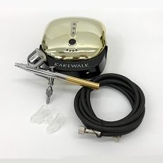 Cake Airbrush Compressor Kit 2 - Gold Series