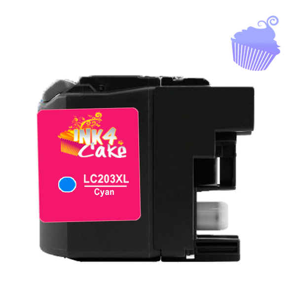 Brother 203XL Edible Cartridge Cyan for BR20