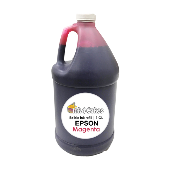 Magenta edible ink refill for EPSON printers | 1 GL