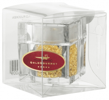 Gold Gourmet  - Edible Gold Flakes in SHAKER - 23K - 100 mg