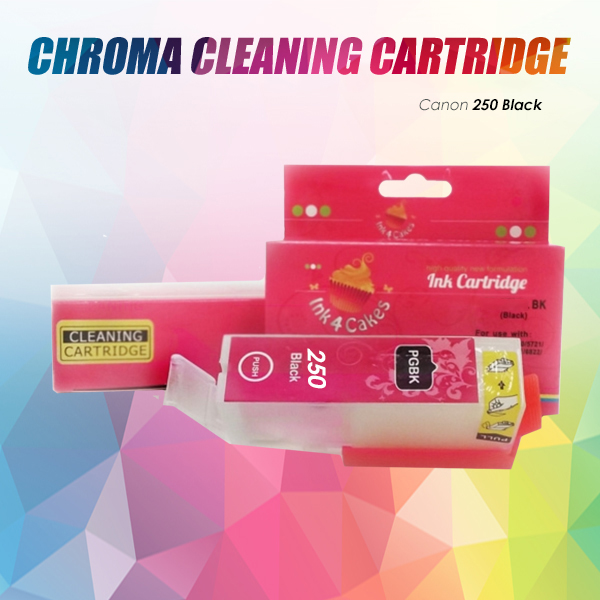 CHROMA Canon Black Cleaning Cartridge 250XL