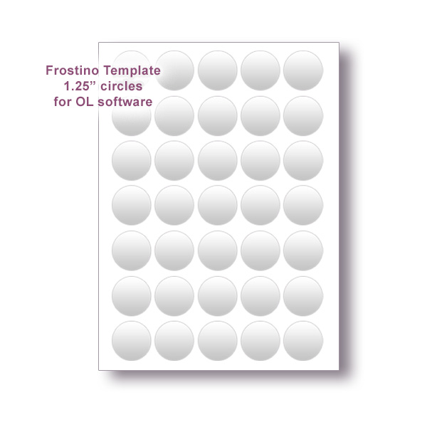Frostino Templates for Office Labeler Software - 1.25
