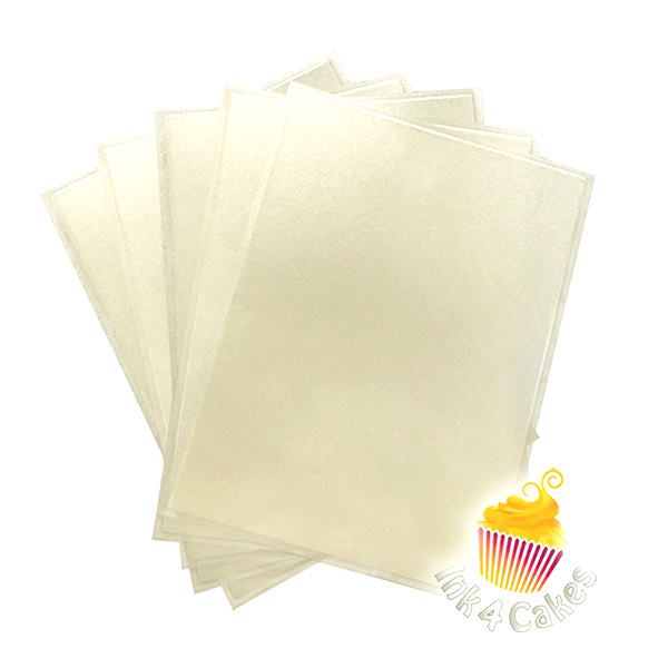Pearl - Flex Frost Metallic Icing Sheets 10 pack