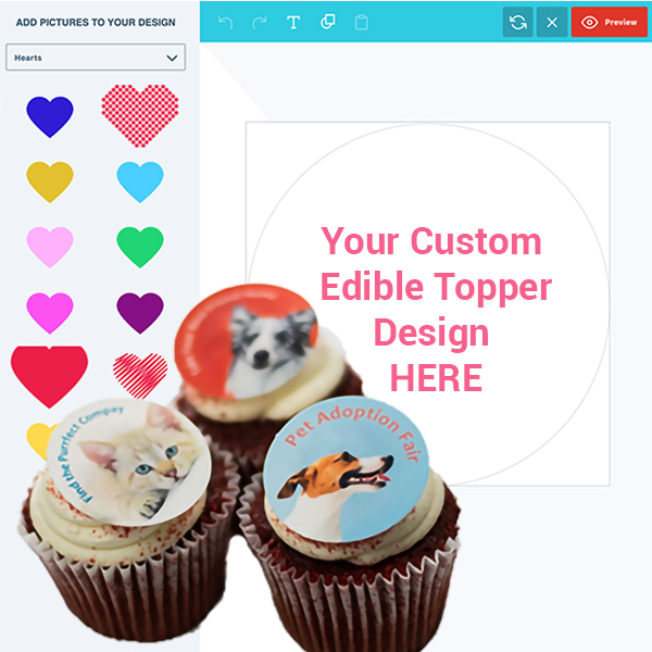 Cupcake Toppers Design