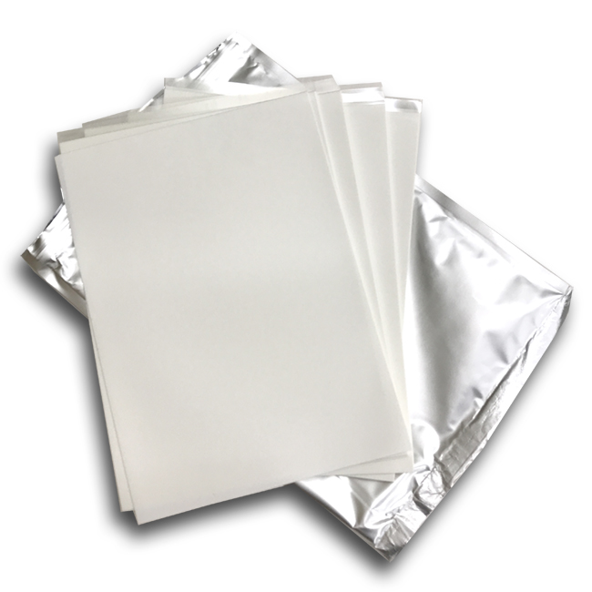 Pack of 25 Premium Icing Sheets by Kakewalk A4 Size