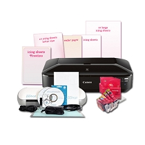 Canon Edible Printer  CW8 With Portrait Cutter Bundle