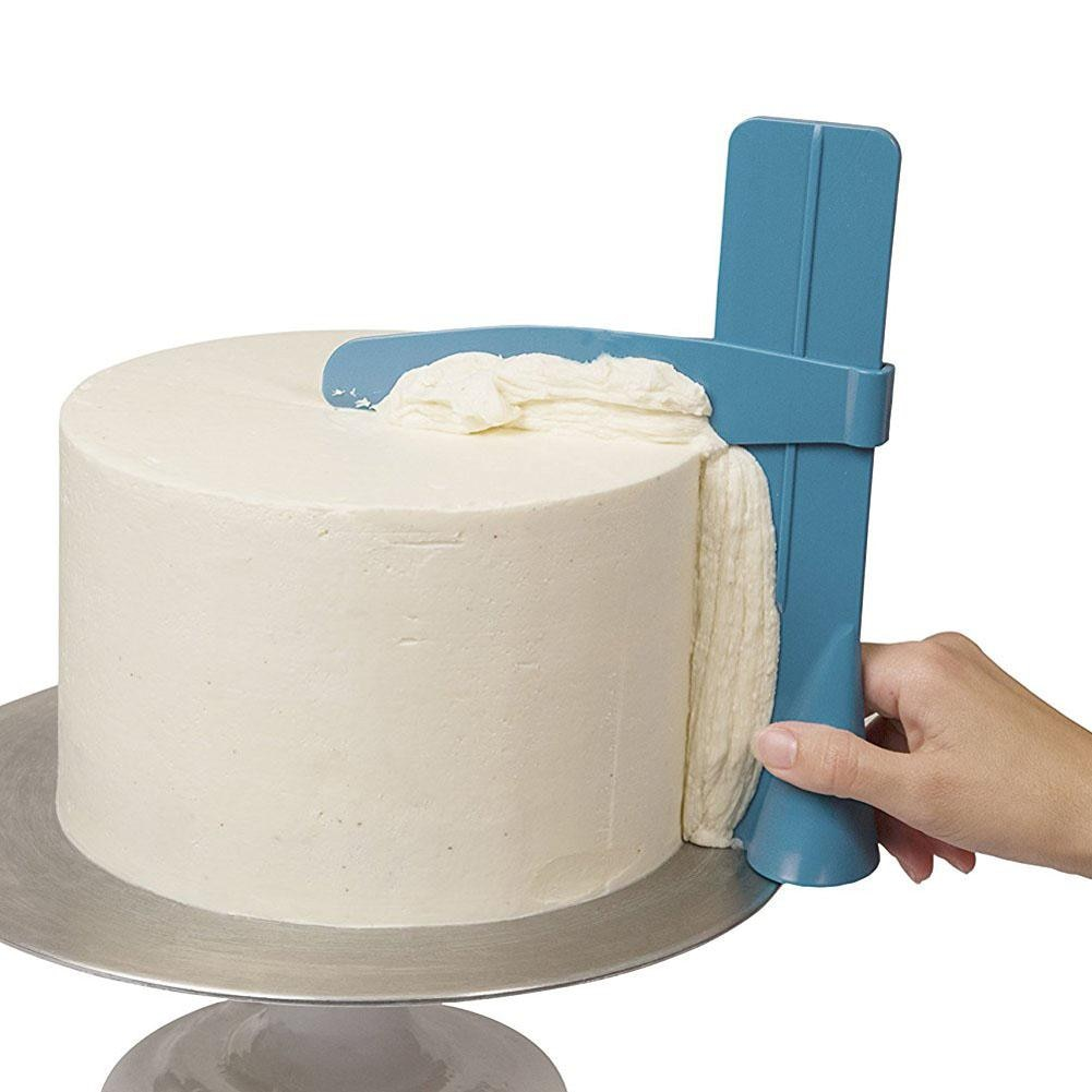 Cake Scraper Adjustable  Cake Tool