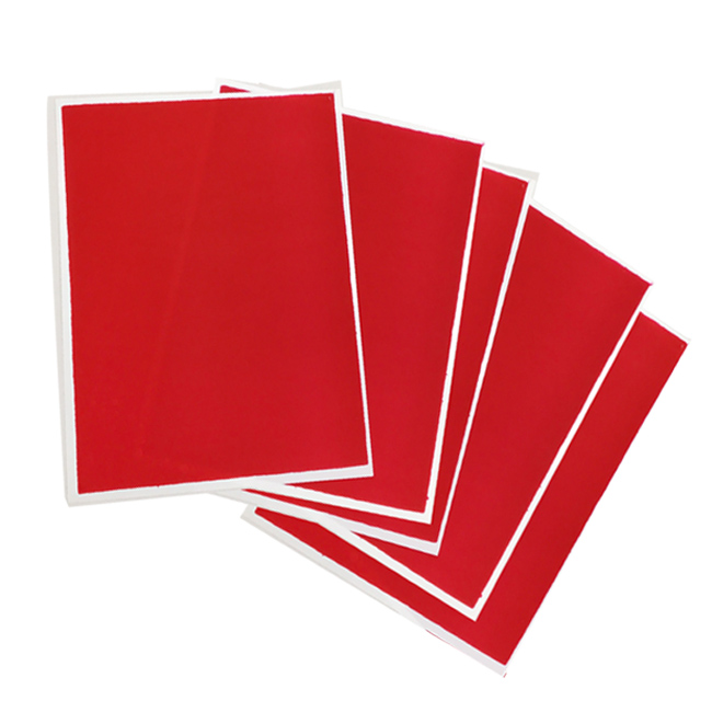 Red Flex Frost - Fabric Icing sheet - 10 pack