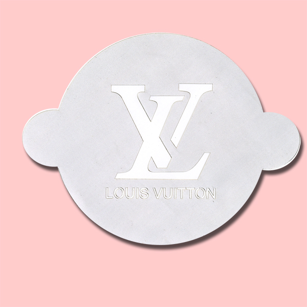 Vuitton - Bakery Decorating Stencil - Circle 11