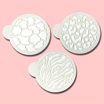 Animal Print Collection - Bakery Decorating Stencils - 2.6