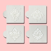 Damask - Bakery Decorating Stencils - 2.6