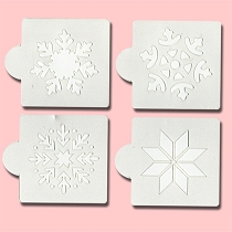 Snowflake - Bakery Decorating Stencils - 2.6