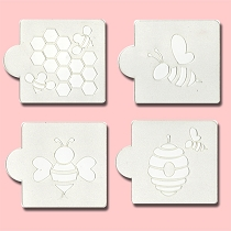 Honeybee - Bakery Decorating Stencils - 2.6