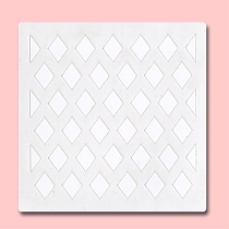 Seamless Diamonds - Bakery Decorating Stencil - Square 5.5