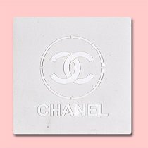 Chanel - Bakery Decorating Stencil - Square 5.5