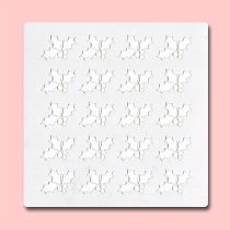 Christmas Mistletoe - Bakery Decorating Stencil - Square 5.5