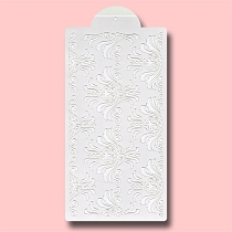 Damask - Bakery Decorating Stencil - Rectangle 11