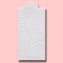 Animal Leopard Print - Bakery Decorating Stencil - Rectangle 11
