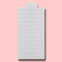 Gucci Seamless - Bakery Decorating Stencil - Rectangle 11