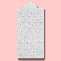 Vuitton Seamless - Bakery Decorating Stencil - Rectangle 11
