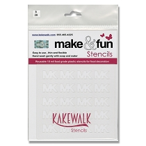 Michael Kors - Bakery Decorating Stencil - Square 5.5