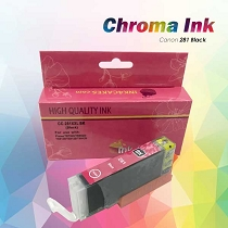 CHROMA Canon Black Edible Ink Cartridge 281