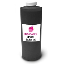 Edible ink refill for Epson - Black 1 liter (34oz) Bottle