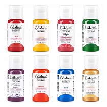 Rainbow Edible Art Paint Set - 8pk