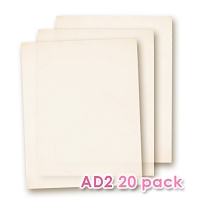 Edible Wafer Paper AD2  20 Sheets Pack