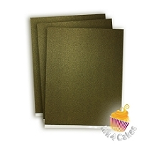 Black Gold-  Supreme Sparkling  Icing Sheet  -6pk