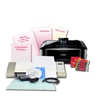 New Cameo & Refurbished Canon C3 Edible Printer Bundle 11