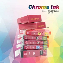 CHROMA 280XL-281XL Canon Edible Ink Cartridges