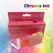 CHROMA Canon Yellow Edible Ink Cartridge 281XL