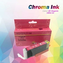 CHROMA Canon Magenta Edible Ink Cartridge 281XL