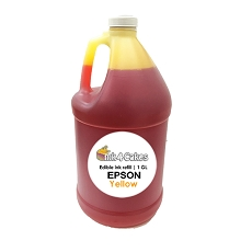 Yellow edible ink refill for EPSON printers | 1 GL