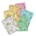 Printed Wafer Paper sample pack - Flower Pattern