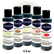 AmeriMist Airbrush Bundle Pack - Flowers and Earth 4.5 OZ 5 Colors