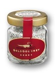 Gold Gourmet - JAR of Edible Silver FLAKES - 1 gram