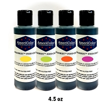 AmeriMist Airbrush Bundle Pack - It's Electric 4.5 OZ 4 Colors