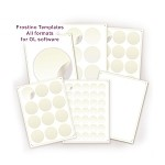 Frostino Templates for Office Labeler - full pack
