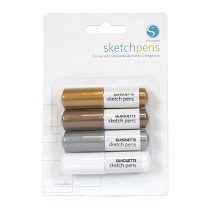 Silhouette Sketch Pens